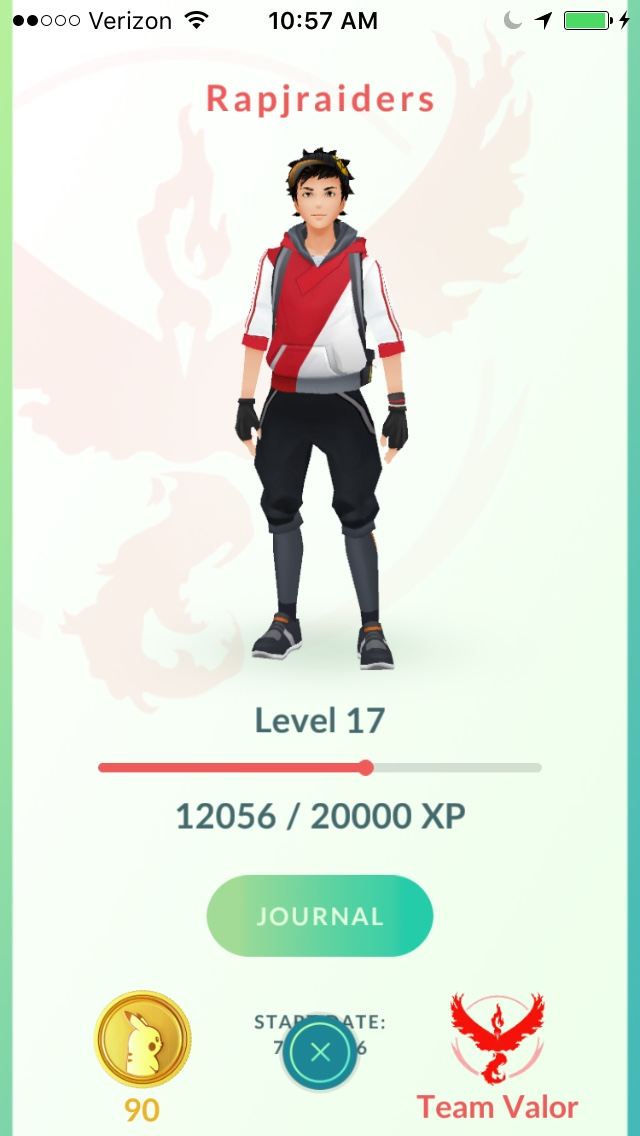 Pokemon Trainer Level