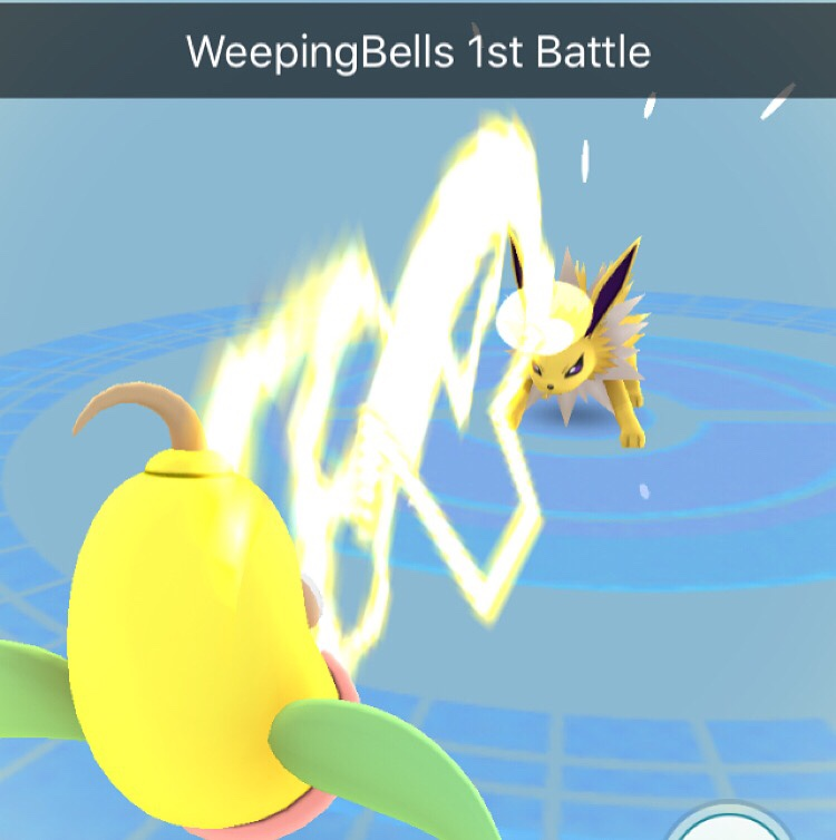 weepingbells first battle