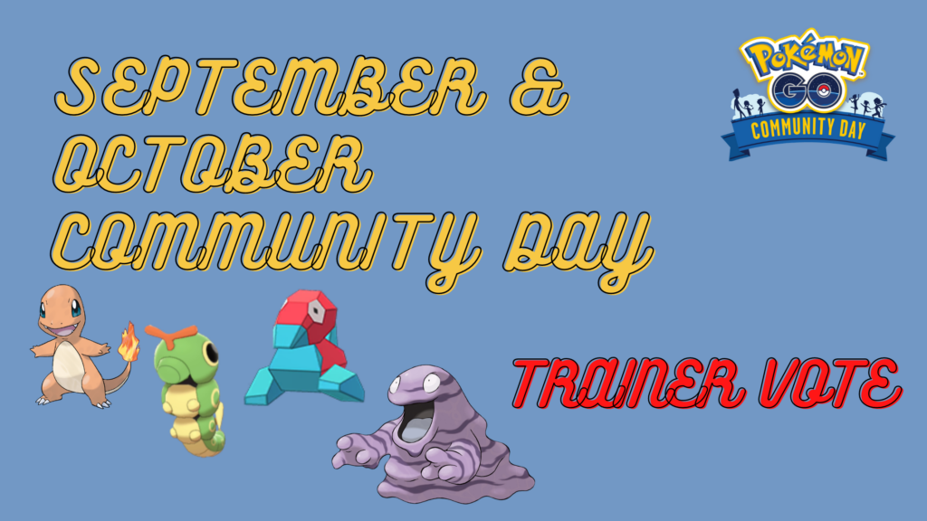 Next Pokemon Go Community Day is a trainer vote